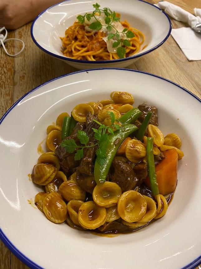 Classic beef Ragout pasta