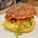 Breakfast Sandwich With Scrambled Eggs And Cheese ($6.80)