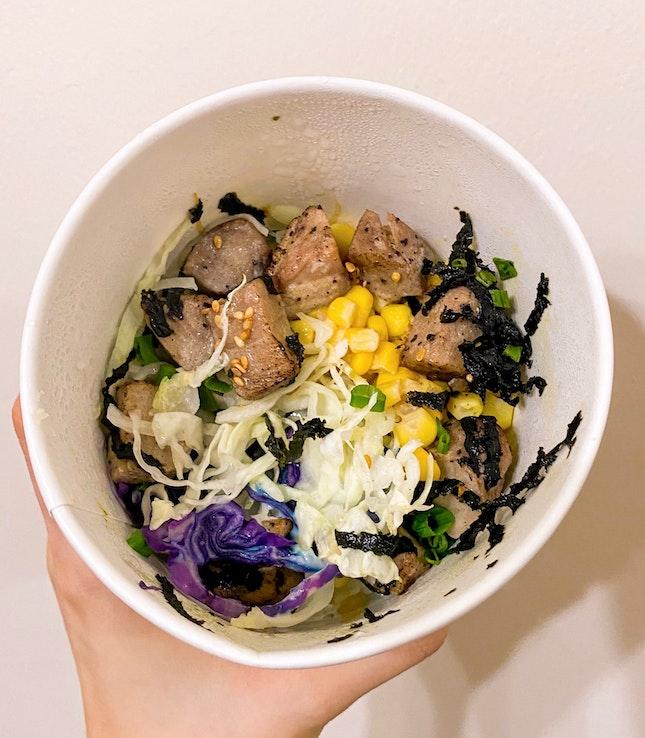 Seared Tuna Bowl ($11.90 + $3)