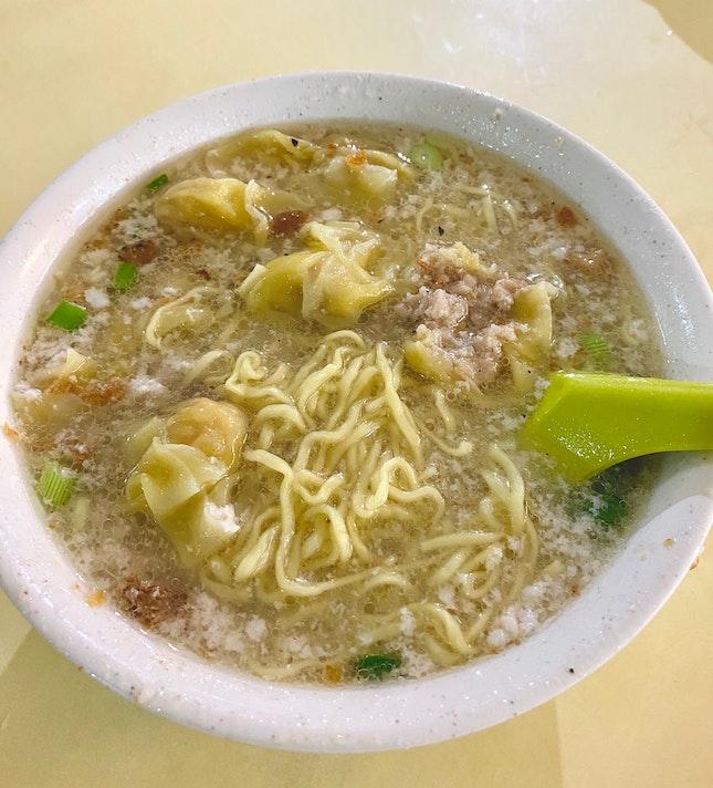 Soup Bak Chor Mee ($4)