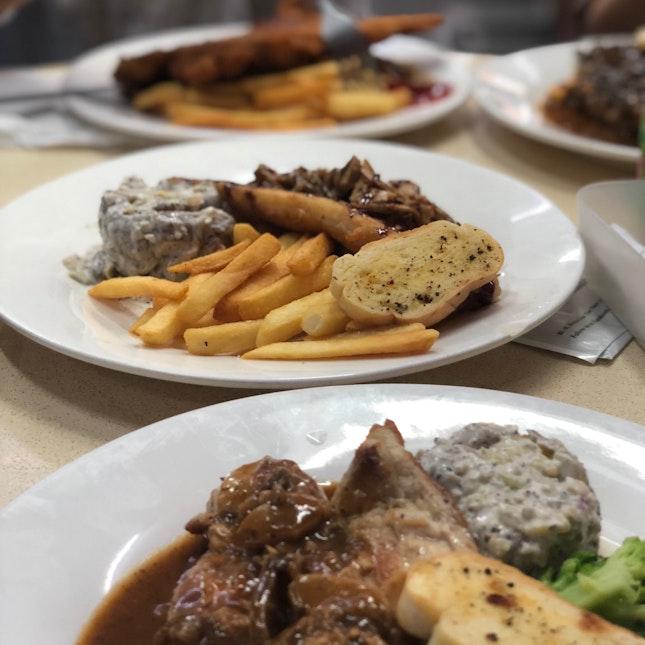 Affordable Kopitiam Western Food