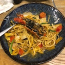 Pasta With Lobster And Mussels