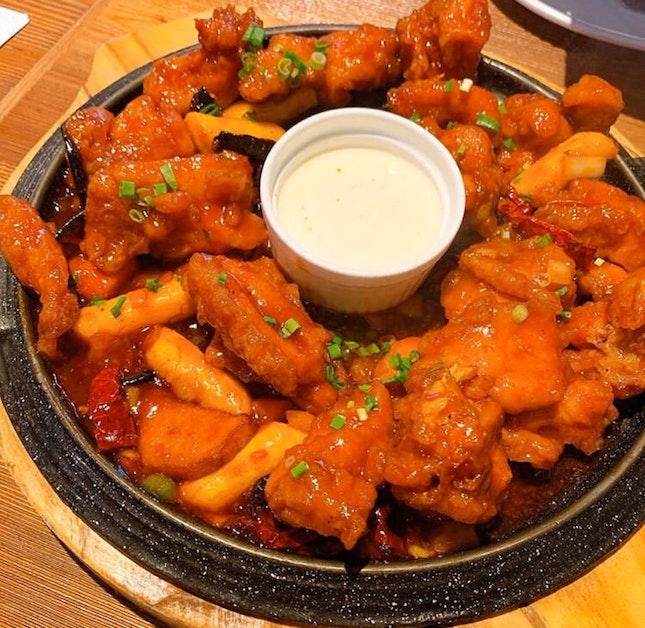 Fried chicken tender