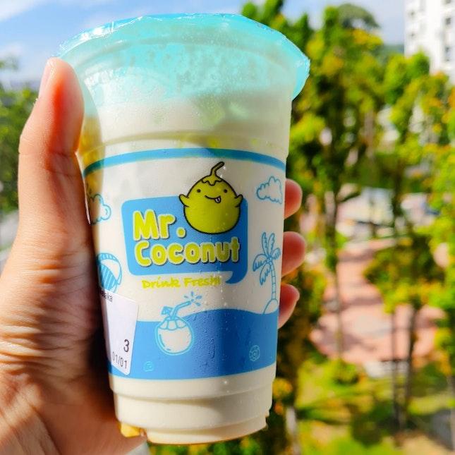 Avocado Gula Melaka Coconut Fresh Milk
