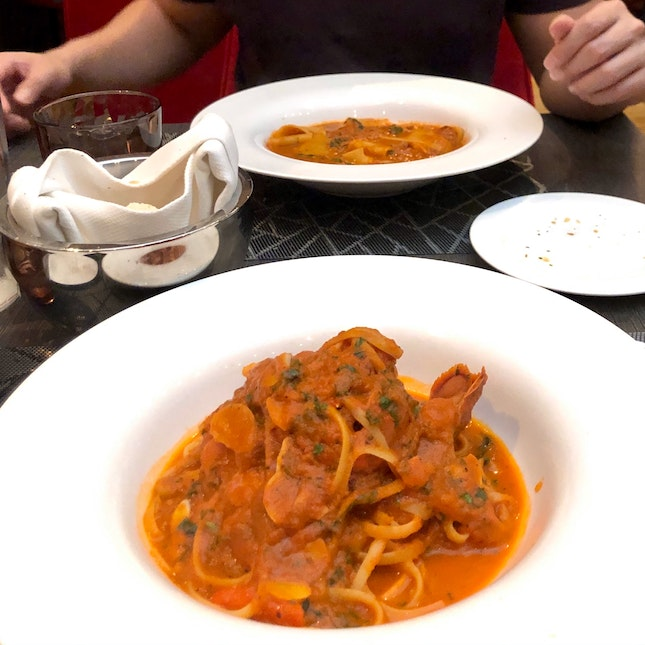High quality Italian dishes & great service