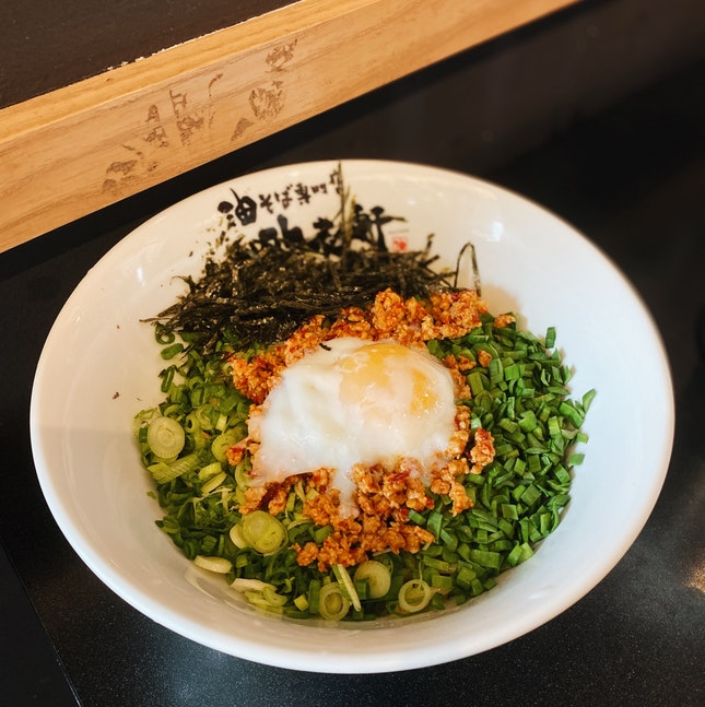A MUST-TRY for Mazesoba lovers!