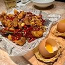 Popcorn Chicken in Sichuan Chilli