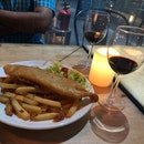 Wine with Fish & Chips