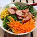 DIY Kale Salad With Duck Meat
