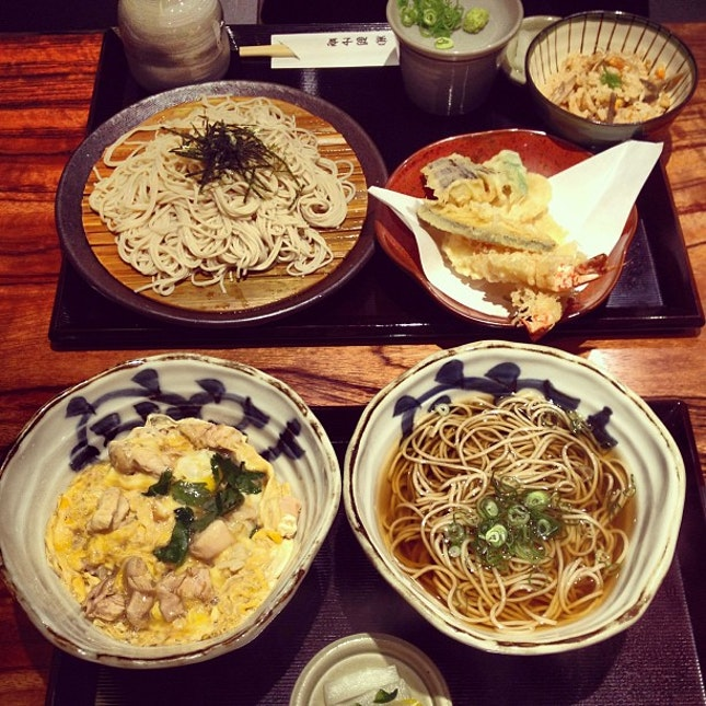 First meal in Osaka.