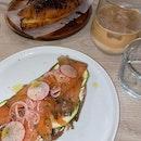 Classic Salmon Toast