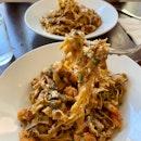 Prawn Mentaiko Tagliatelle ($23, +$3 For Tagliatelle Pasta)