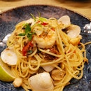 Chilli Lime Seafood Pasta