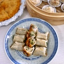 Pan-fried Mixed Seafood & Pork Dumplings
