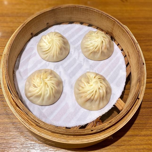 Steamed Tom Yum Xiao Long Bao