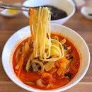 Spicy Seafood Noodle - Jjamppong