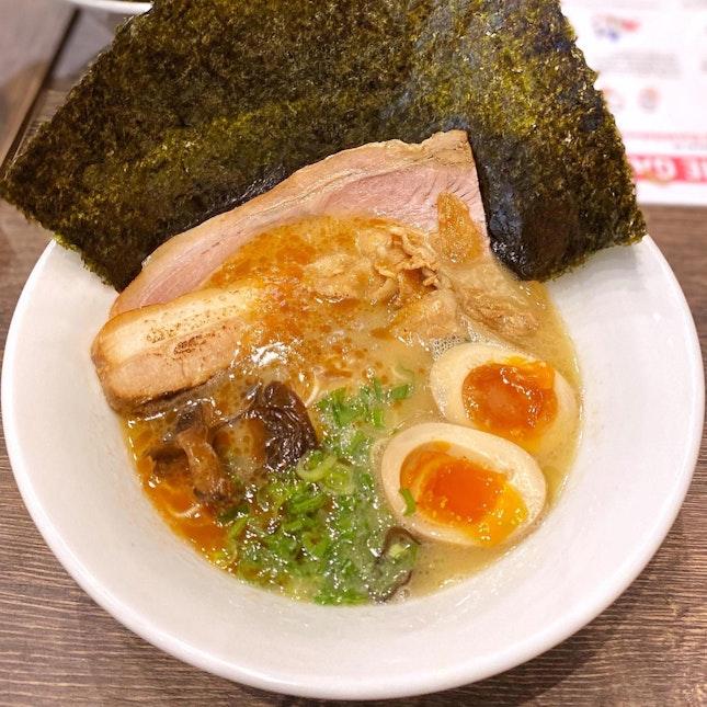 Garlic Tonkotsu with All Toppings