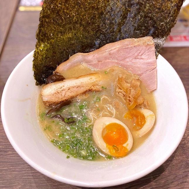 Original Tonkotsu with All Toppings