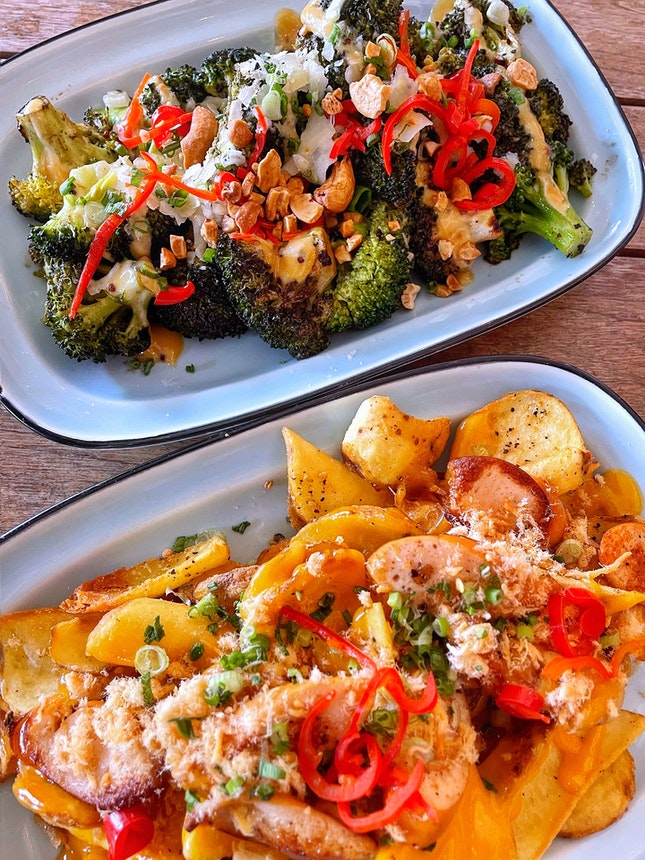 Miso Dirty Fries & Broc Party