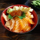 Salmon Zukushi Bowl