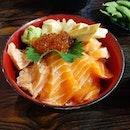 Salmon Zukushi Bowl