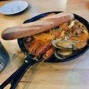 Seafood Pan ($28.80)