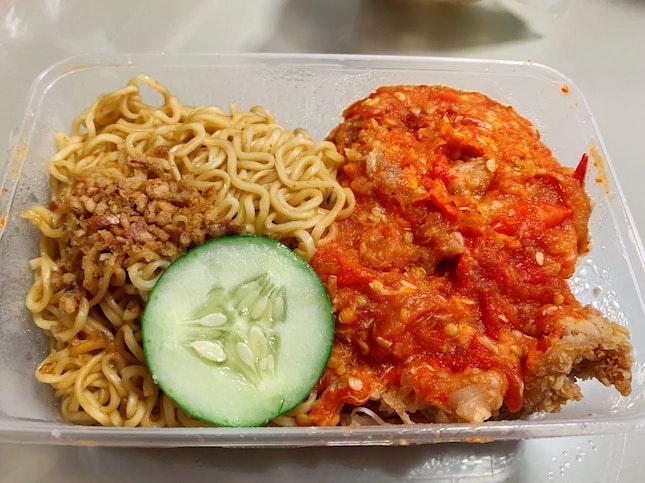 Ayam Geprek Indomie ($7.50)