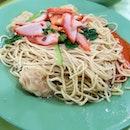 Dunman Road Char Siew Wanton Mee