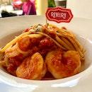 Sawasdee Tom Yum Prawn Pasta ($18)