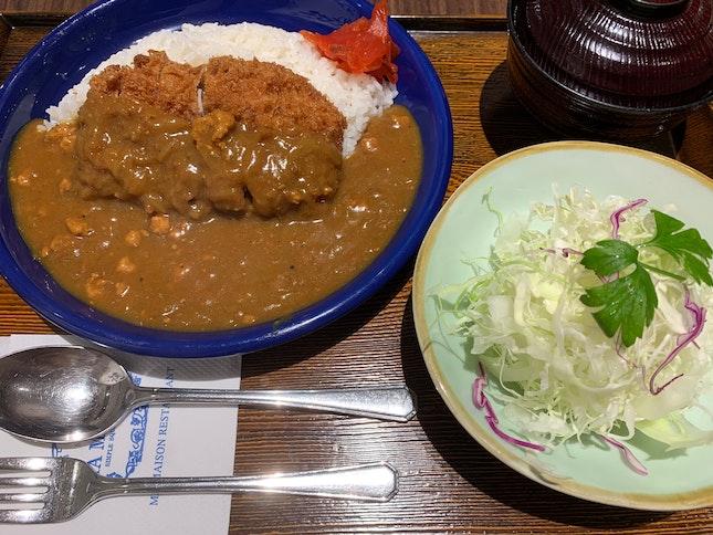 Pork Fillet Curry Tonkatsu | $25.80
