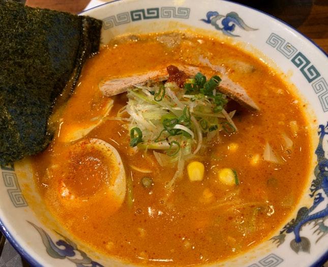 Spicy Sapporo Miso Ramen   $15.80
