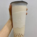 Oolong Milk Tea W/ Honey Pearls (L) | $4.20