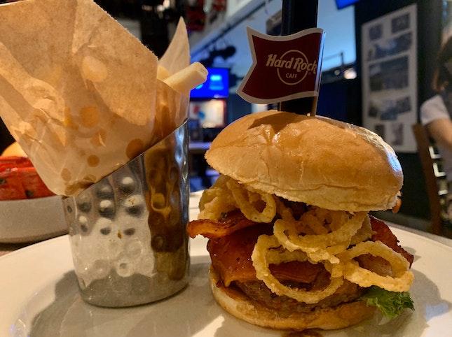 BBQ Bacon Cheeseburger | $29.95
