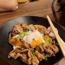 Gyudon + Onsen Egg | $14.80 + $2