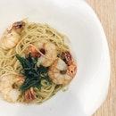 Spaghetti Aglio Olio [$13.50]
