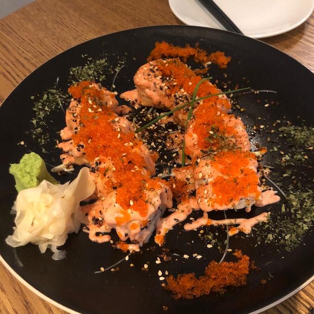 Salmon Mentaiko Roll
