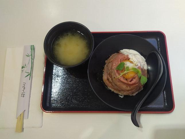 Wagyu Roast Beef Donburi   $15