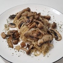 Mushroom Aglio Oglio