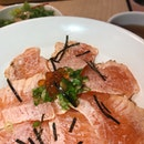Aburi Salmon Donburi