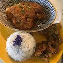 Rendang Chicken Rice ($16)