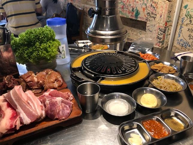 Don Dae Bak Lunch Buffet