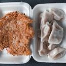 dumplings & potato pancake