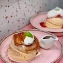 Tiramisu & Strawberry Cheesecake.