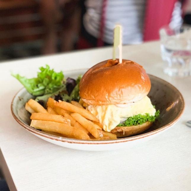 Pretty good Ramly burger