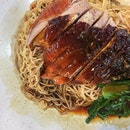 [Roast Duck Noodles 烧鸭面 S$3.50] for lunch!