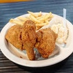 2 Pc Fried Chicken Meal -$7.30  I was craving fried chicken so I headed out to Arnold's at City Plaza.