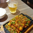 Hot Plate Egg Tofu