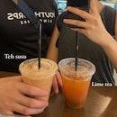 Teh Susu & Lime Tea