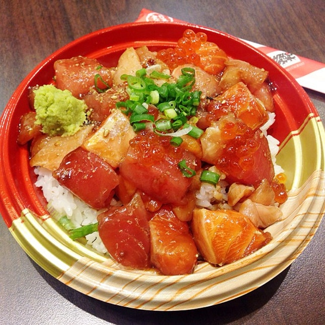 The one and only Teppei's Kaseidon (Chirashi) with such generous portion 😻