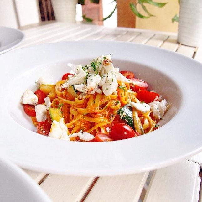 Missing this delizioso signature pasta by @olivasingapore!
